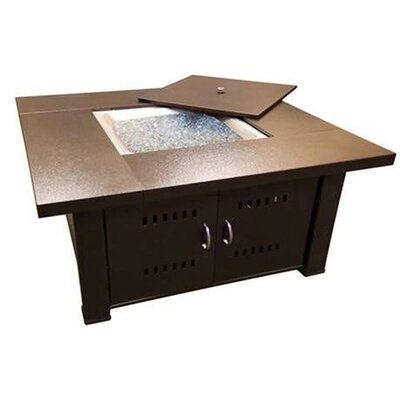 Phat Tommy Propane/Butane Fire Pit Finish: Hammered Bronze