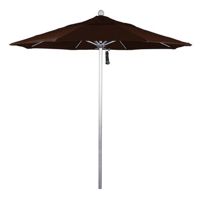 7.5 Phat Tommy Silver Anodized Market Umbrella Fabric: Mocha