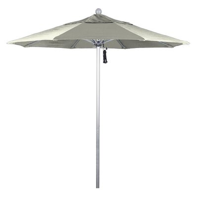 7.5 Phat Tommy Silver Anodized Market Umbrella Fabric: Canvas