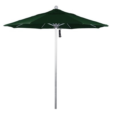 7.5 Phat Tommy Silver Anodized Market Umbrella Fabric: Hunter