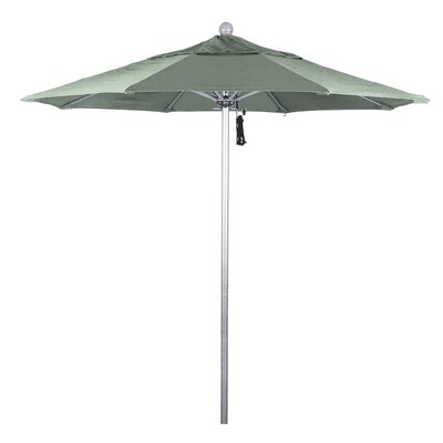 7.5 Phat Tommy Silver Anodized Market Umbrella Fabric: Spa