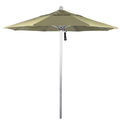 7.5 Phat Tommy Silver Anodized Market Umbrella Fabric: Beige