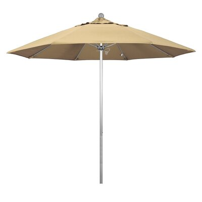 9' Phat Tommy Silver Anodized Market Umbrella Fabric: Black 332-ALTO908.PAC.BLACK