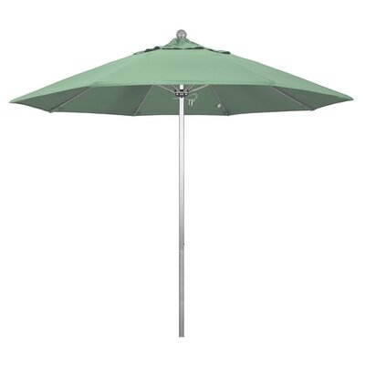 9' Phat Tommy Silver Anodized Market Umbrella Fabric: Spa 332-ALTO908.PAC.SPA