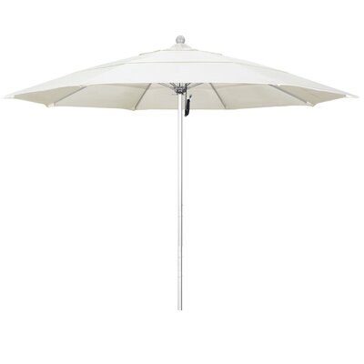 11 Phat Tommy Silver Anodized Market Umbrella Fabric: Canvas