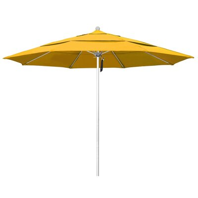 11 Phat Tommy Silver Anodized Market Umbrella Fabric: Yellow