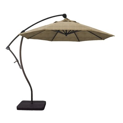9 Phat Tommy Cantilever Umbrella Fabric: Champagne