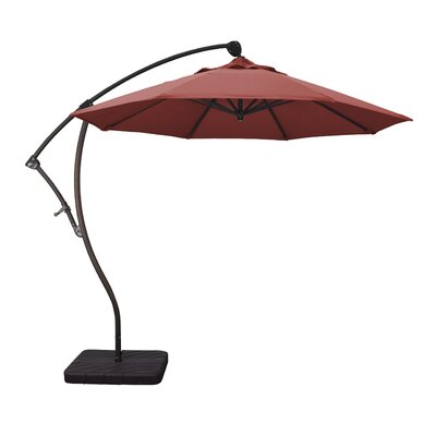 9 Phat Tommy Cantilever Umbrella Fabric: Red