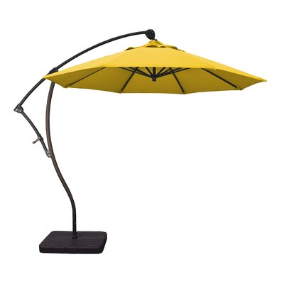 9 Phat Tommy Cantilever Umbrella Fabric: Lemon