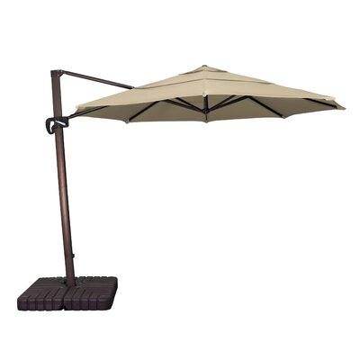 11 Phat Tommy Cantilever Umbrella Fabric: Antique Beige