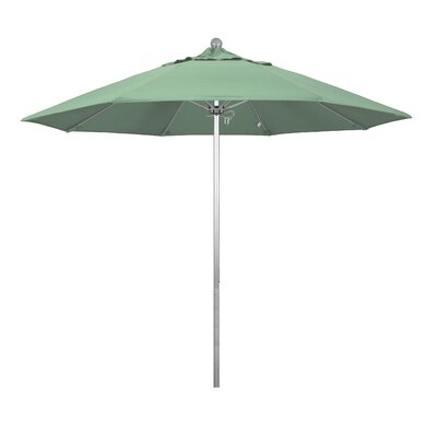 9 Phat Tommy Silver Anodized Market Umbrella Fabric: Spa