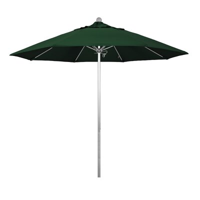 9 Phat Tommy Silver Anodized Market Umbrella Fabric: Hunter