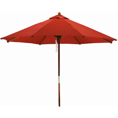 9 Phat Tommy Market Umbrella Fabric: Red Orange