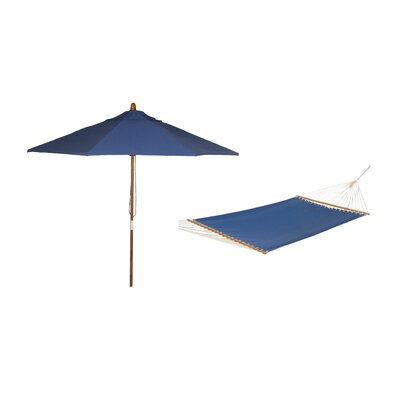 Phat Tommny Sunbrella Tree Hammock with Umbrella Color: Galaxy