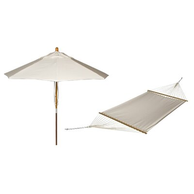 Phat Tommny Sunbrella Tree Hammock with Umbrella Color: Birds Eye