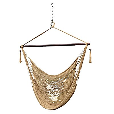 Phat Tommy Polyester Chair Hammock Color: Desert Tan