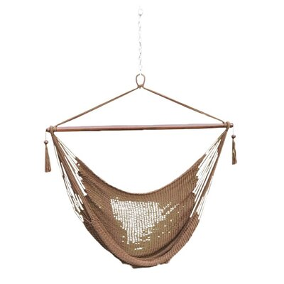 Phat Tommy Polyester Chair Hammock Color: Mocha
