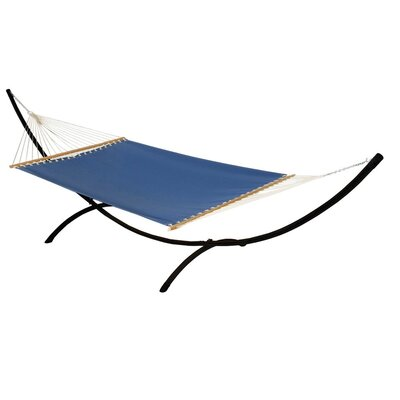 Phat Tommy Sunbrella Hammock with Stand Color: Galaxy, Base Color: Black