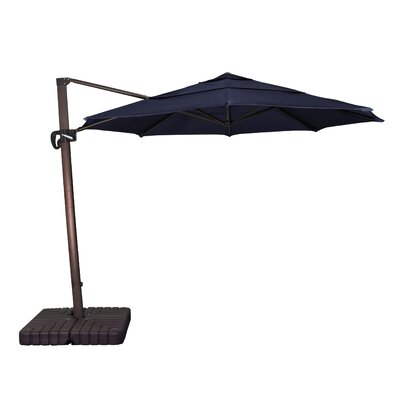 11 Phat Tommy Cantilever Umbrella Fabric: Navy