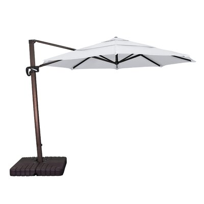 11 Phat Tommy Cantilever Umbrella Fabric: Natural