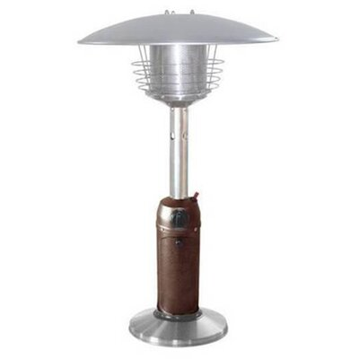 Phat Tommy Portable 11,000 BTU Propane Tabletop Patio Heater