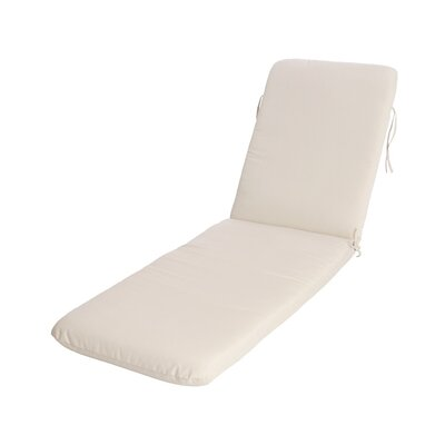 Phat Tommy Outdoor Sunbrella Chaise Lounge Cushion Color: Birdseye