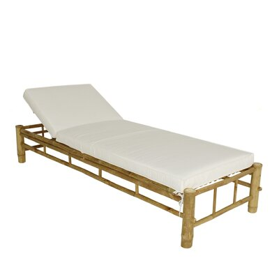 Corning Bamboo Outdoor Chaise Lounge Frame 779 Item Image