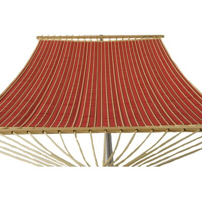 Phat Tommy Sunbrella Harwood Deluxe Quilted Reversible Hammock Crimson - Product photo
