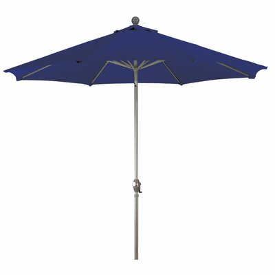 Buyers Choice 9' Phat Tommy Crank Lift Market Umbrella - Fabric: Navy