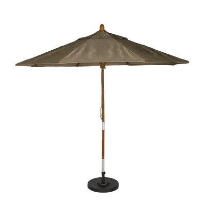 9' Phat Tommy Market Umbrella Color: Cocoa 331-GSCUF908.SUN.COCOA