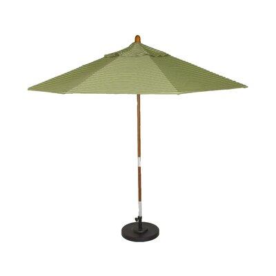 Phat Tommy Market Patio Umbrella Fabric Sunbrella Peridot Pole - Product photo