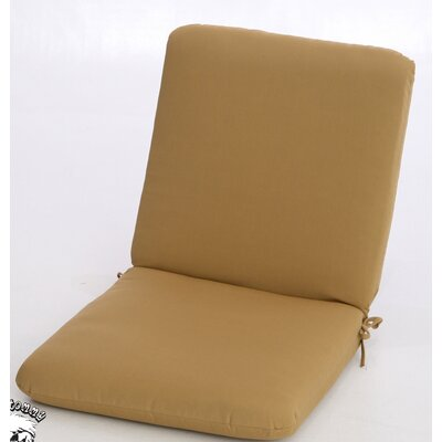 Buyers Choice Phat Tommy Club Chair Cushion - Color: Brass