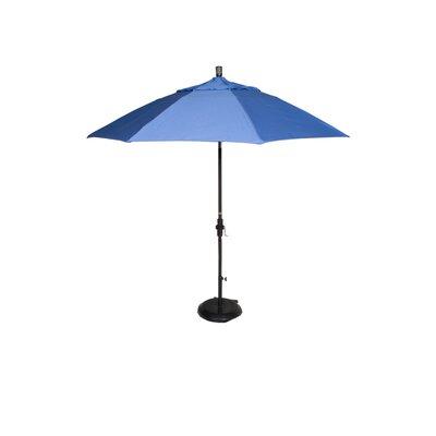 9' Phat Tommy Market Umbrella Pole Material: Aluminum, Fabric: Capri 331-GSCUF908.SUN.CAPRI