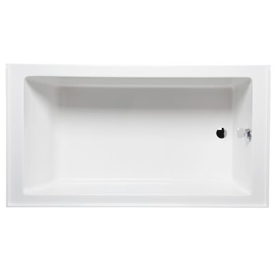 Turo 60 x 30 Soaking Bathtub Finish: Biscuit
