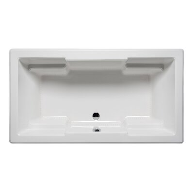 Quantum 66 x 42 Drop in Bathtub Finish: White