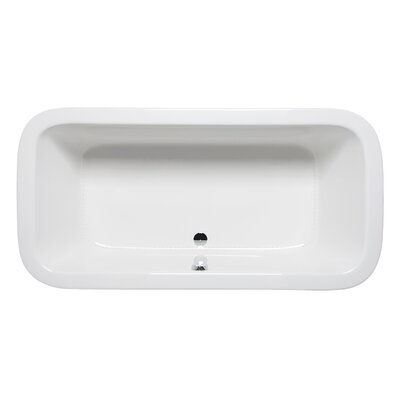 Nerissa 72 x 36 Drop in Bathtub Finish: Almond