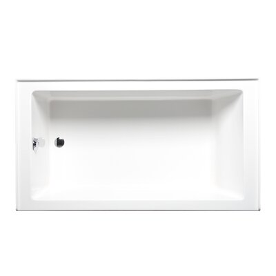 Turo 60 x 30 Soaking Bathtub Finish: White