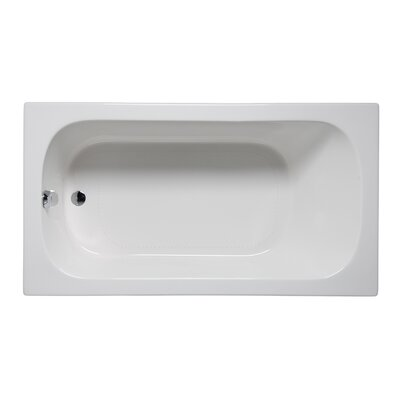 Miro 72 x 36 Drop in Bathtub Finish: Almond
