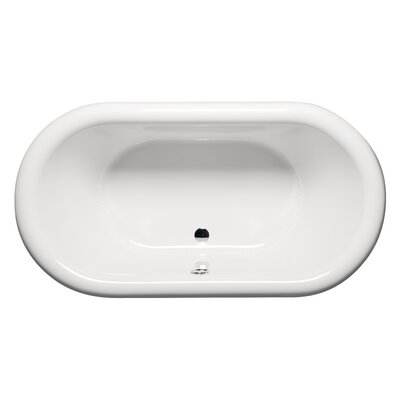 Rianna 71 x 35 Freestanding Bathtub Finish: White