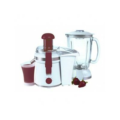 Two In One Juicer And Blender In White