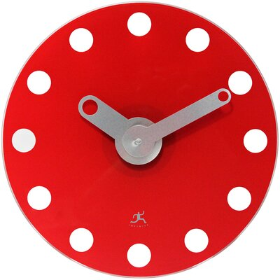 """Infinity Instruments 14"""" Accent Wall Clock - Color: Red at Sears.com"""