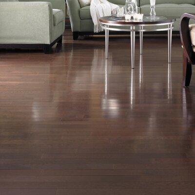 Color Plank 5 Solid White Oak Hardwood Flooring in Metro Brown