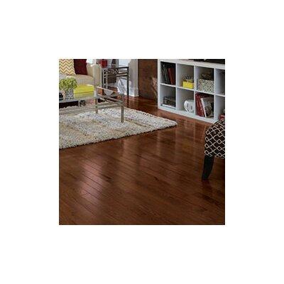 Color Strip 2-1/4 Solid Red Oak Hardwood Flooring in Mocha