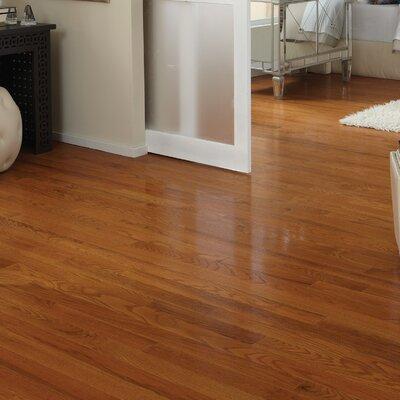Classic 2-1/4 Solid Oak Hardwood Flooring in Butterscotch