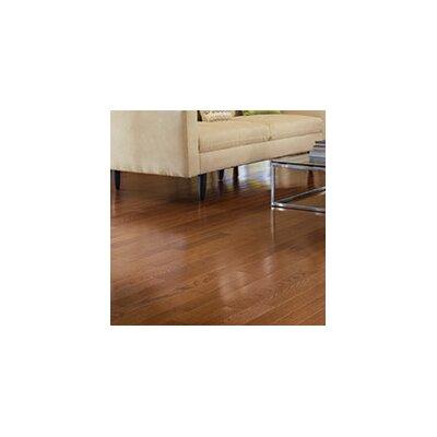 Color Plank 5 Engineered Red Oak Hardwood Flooring in Mocha