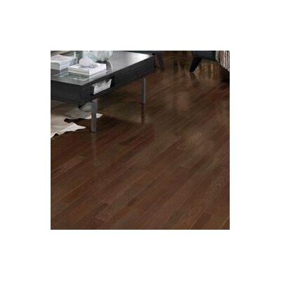 Homestyle 3-1/4 Solid White Oak Hardwood Flooring in Metro Brown