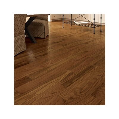 Classic 2-1/4 Solid Oak Hardwood Flooring in Gunstock