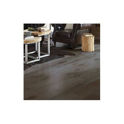 Character 4 Solid Maple Hardwood Flooring in Onyx