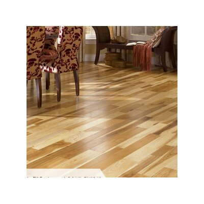Character 3-1/4 Engineered Hickory Hardwood Flooring in Natural