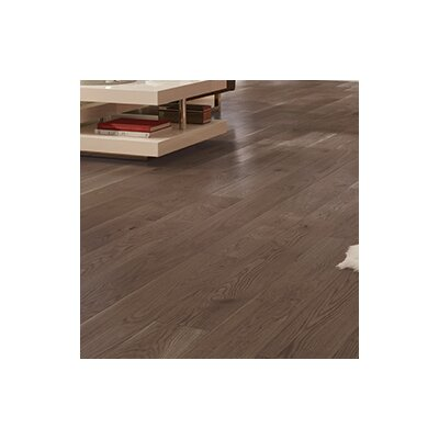 Wide Plank 7 Engineered Oak Hardwood Flooring in Colonial Gray